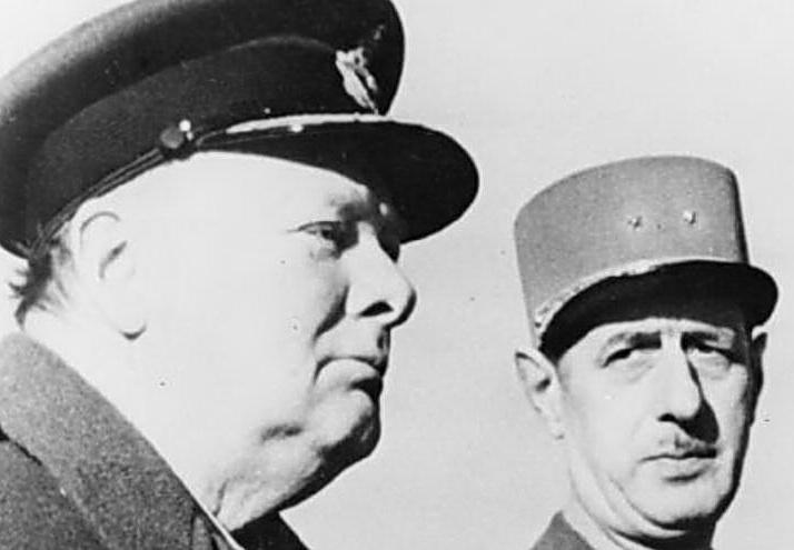 Churchill- De Gaulle