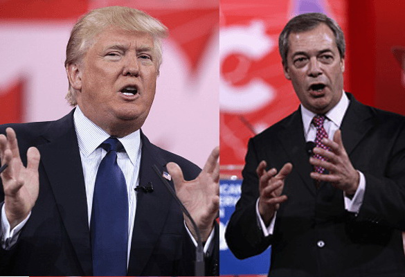 Trump et Farage