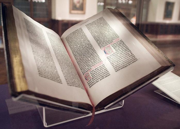 bible Gutemberg