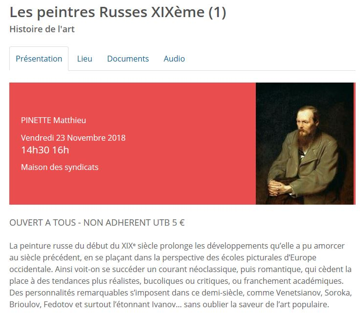 bandeau conference